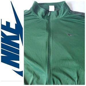 Nike Track Front Zipper Lightweight Jacket SZ XXL